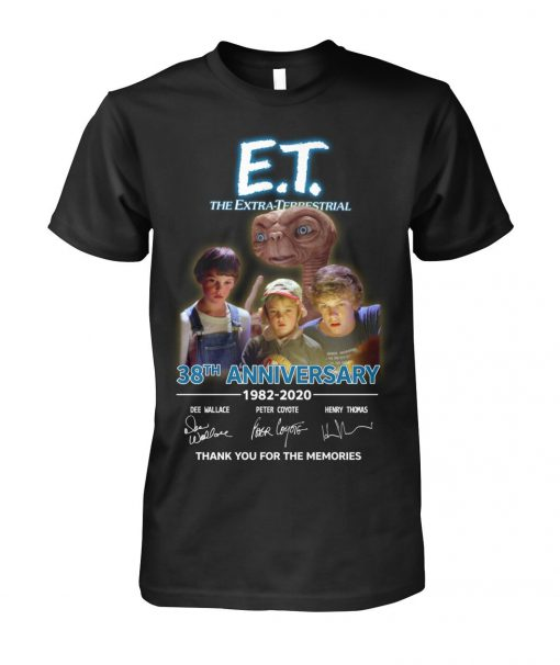 E.T. the Extra-Terrestrial 38th Anniversary 1982-2020 T-shirt