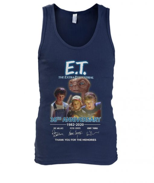 E.T. the Extra-Terrestrial 38th Anniversary 1982-2020 tank top