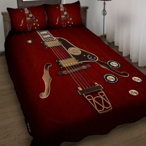 Electric Guitar Bedding Set1