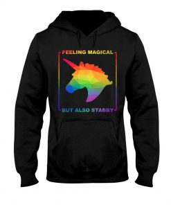 Feeling magical but also stabby Hoodie