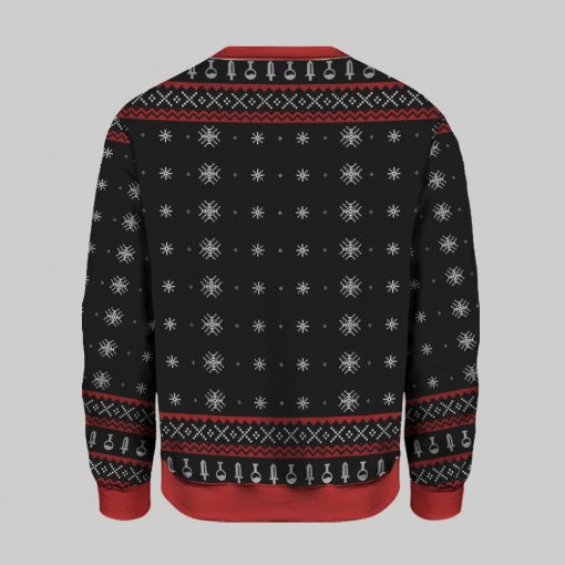 Have Yourself a Merry Little Christmas Dungeons & Dragons Ugly Christmas Sweatshirt1