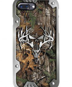 Hunting metal deer camo phone case