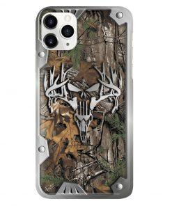 Hunting metal deer camo phone case1