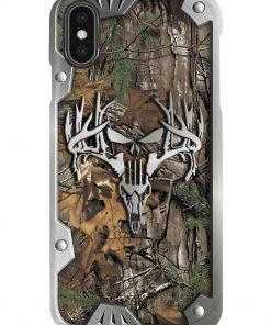 Hunting metal deer camo phone case2