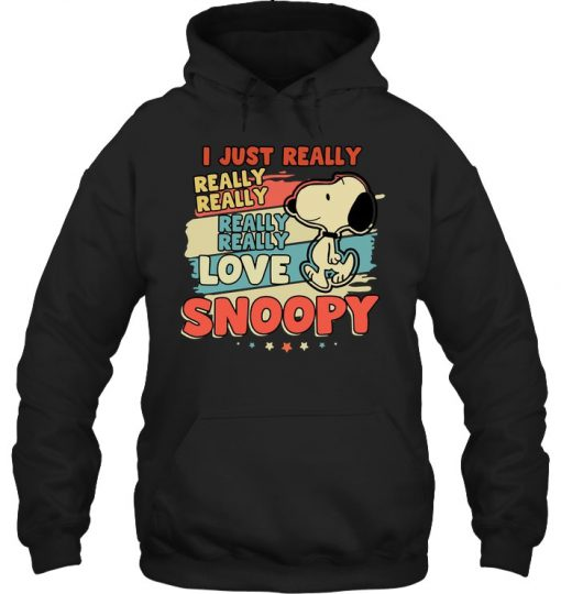 I just really really really love Snoopy Hoodie