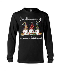 I'm Dreaming Of A Wine Christmas Long sleeve