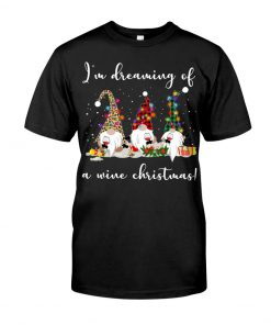 I'm Dreaming Of A Wine Christmas T-Shirt