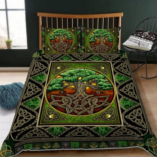 Irish Native Trees Bedding Set 1