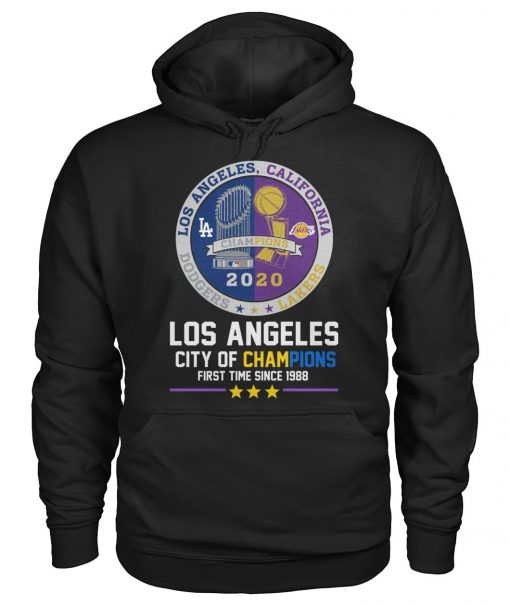 Los Angeles City of champions First time since 1988 Hoodie