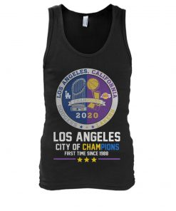 Los Angeles City of champions First time since 1988 Tank top