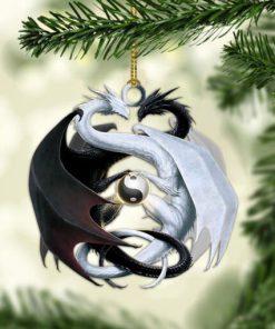 Love Dragon Christmas Ornament