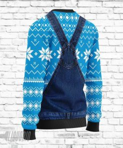 Merry Christmas Busch Light Beer All Over Print Ugly Christmas Sweater3