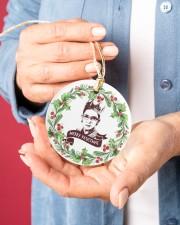 Merry Resistmas Ruth Bader Ginsburg Ornament 2