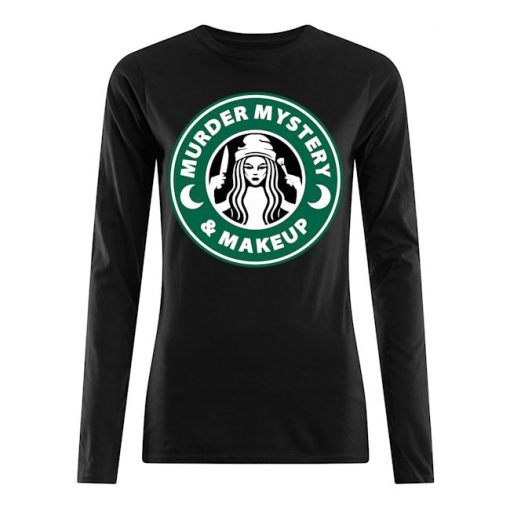 Murder Mystery and Makeup long sleeve