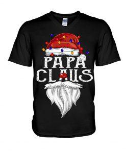 Papa Claus Christmas V-neck