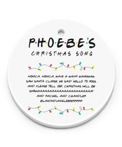 Phoebe's Christmas Song Ornament 1