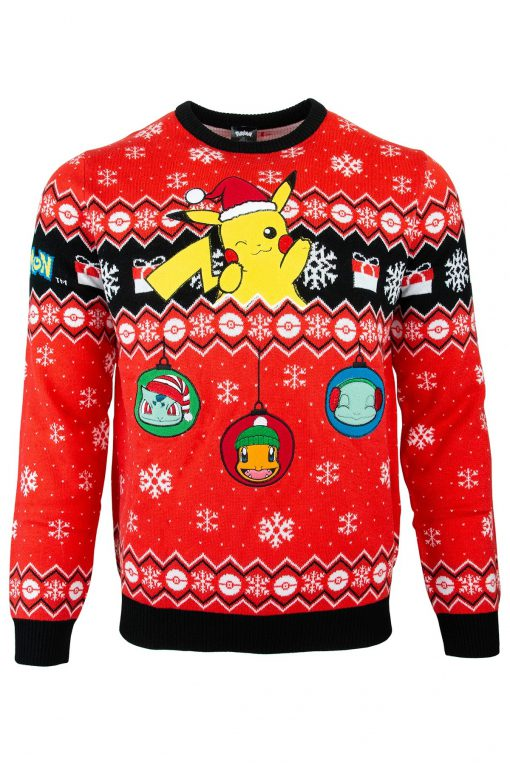 Pikachu Pokémon Ugly Christmas Sweater