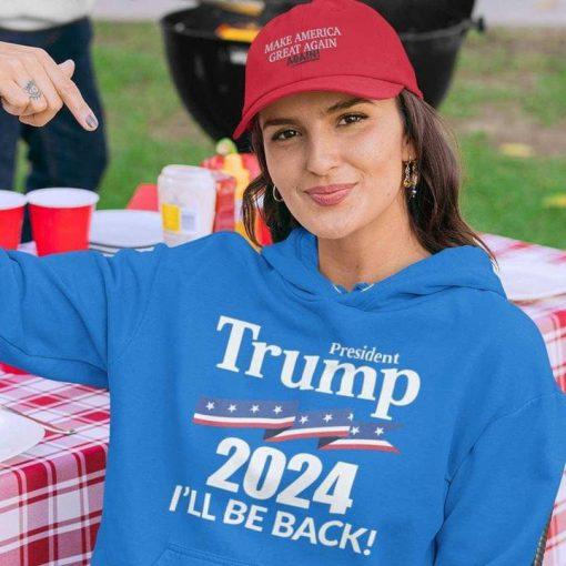 President Trump 2024 I'll be back shirt