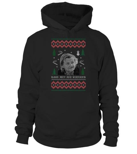 Raus mit die Viecher Christmas Hoodie