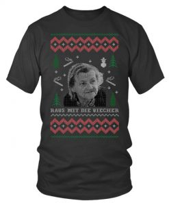 Raus mit die Viecher Christmas T-shirt