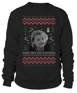 Raus mit die Viecher Christmas sweatshirt
