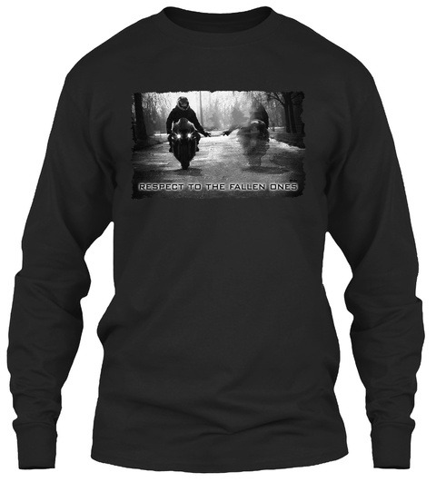 Respect to the fallen ones motorcycle Long sleeve
