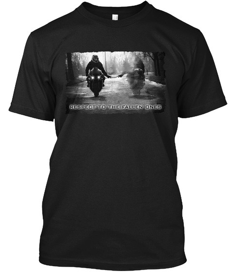 Respect to the fallen ones motorcycle T-shirt