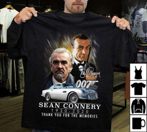 Sean Connery 1930-2020 007 shirt