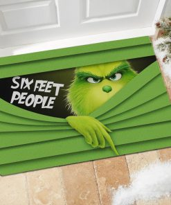 Six Feet People - Grinch Doormat