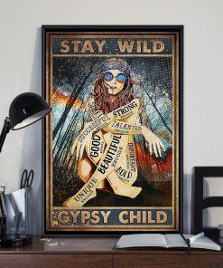 Stay Wild Gypsy Child Poster 3