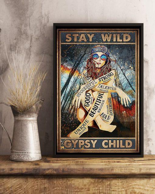 Stay Wild Gypsy Child Poster4
