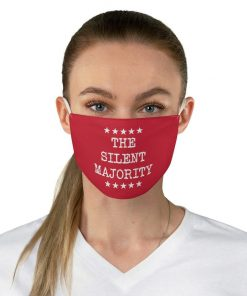 The Silent Majority Red face mask1