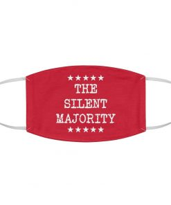 The Silent Majority Red face mask2