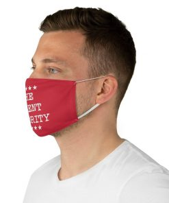 The Silent Majority Red face mask4