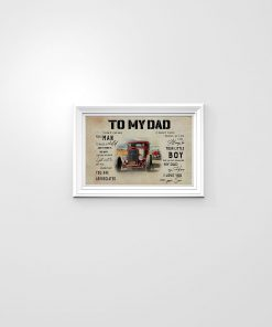 To my dad I know it's not easy for a man to raise a child and there is no way I can pay you back Rat Rod poster1