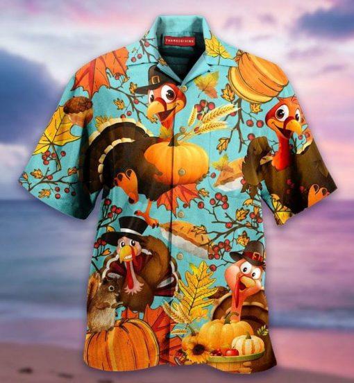 Turkey Autumn Hawaiian Shirt