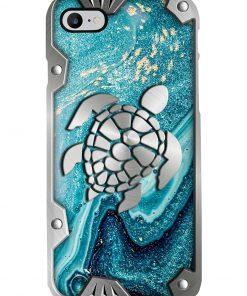 Turtle Metal Pattern Phone Case 7
