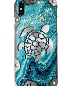Turtle Metal Pattern Phone Case x