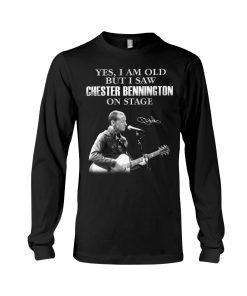 Yes I am old but I saw Chester Bennington on stage long sleeve