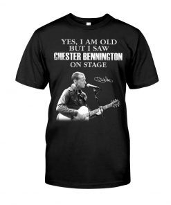 Yes I am old but I saw Chester Bennington on stage shirt
