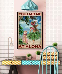 You had me at Aloha poster 1