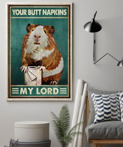 Your butt napkins my lord Hamster poster1