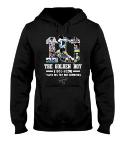 10 The Golden Boy 1960-2020 Thank You For The Memories Hoodie