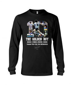 10 The Golden Boy 1960-2020 Thank You For The Memories Long sleeve