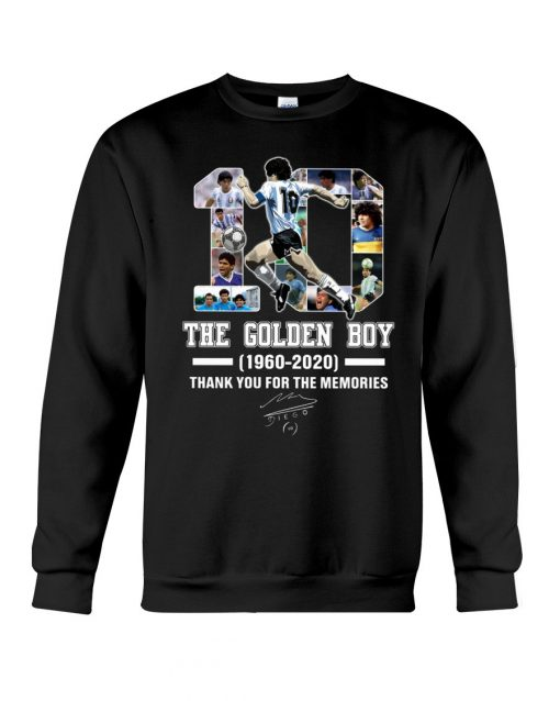 10 The Golden Boy 1960-2020 Thank You For The Memories SweatShirt