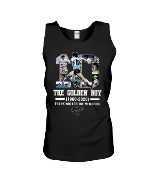 10 The Golden Boy 1960-2020 Thank You For The Memories Tank top
