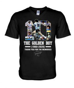 10 The Golden Boy 1960-2020 Thank You For The Memories V-neck
