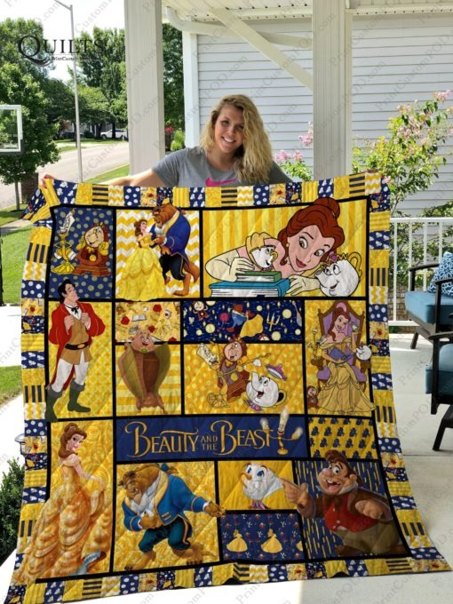 Beauty And The Beast 3D Quilts