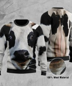 Cow 3D Ugly Christmas Sweater