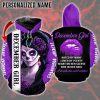 December Girl Hated by many Loved by plenty Heart on her sleeve Fire in her soul 3D hoodie